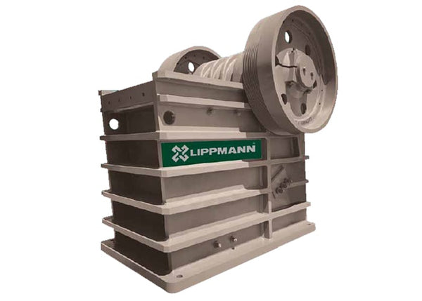 Stationary Rock Jaw Crusher - Lippmann J-3062 Jaw Crushing Machine - Tricon Mining Equipment Australia