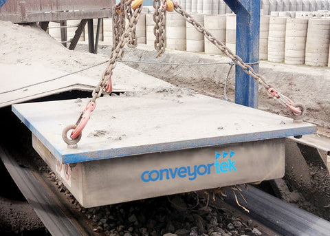 Permanent Conveyor Magnet - Conveyortek Permanent Suspended Conveyor Magnet - Tricon Mining Equipment Australia