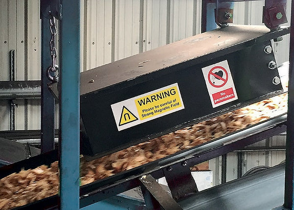 Conveyor Magnet - Remove Metal From Material Stream