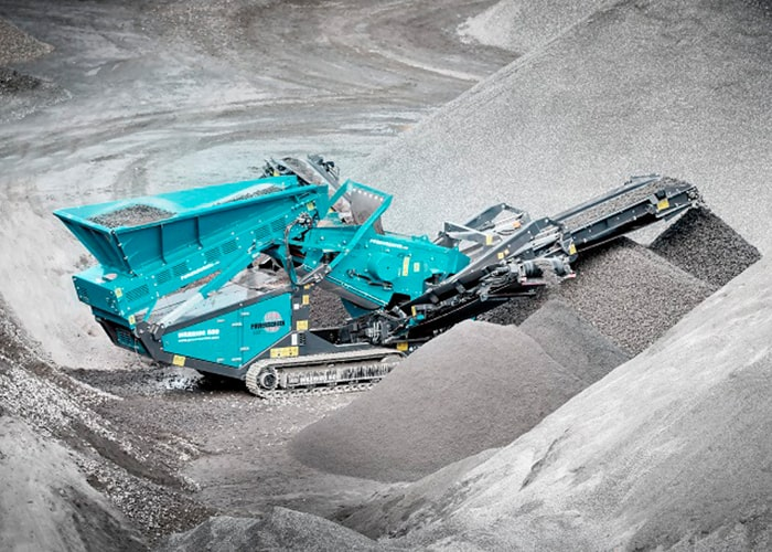 Screen For Sale - Powerscreen Warrior 600 Screener Machine - Tricon Mining Equipment Australia