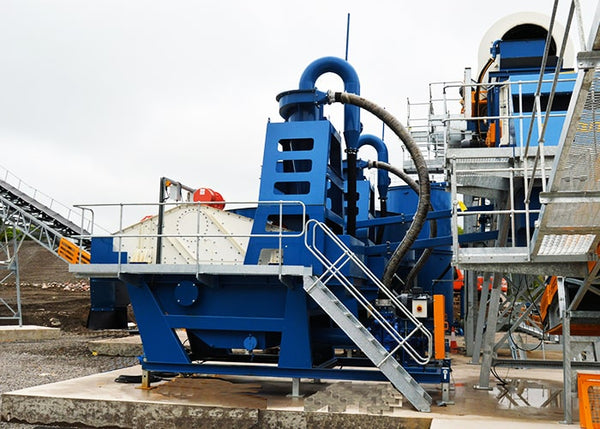 Sand Washing Plant - Dernaseer Cyclone Sand Washer DSP150 - Tricon Mining Equipment Australia