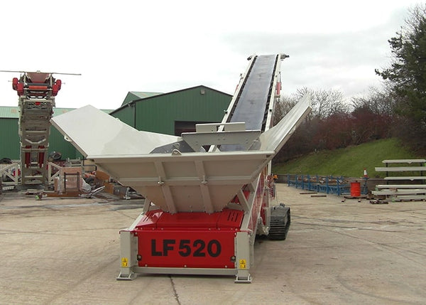Low Feeder - Telestack LF 520 Low Feed Conveyor - Tricon Mining Equipment