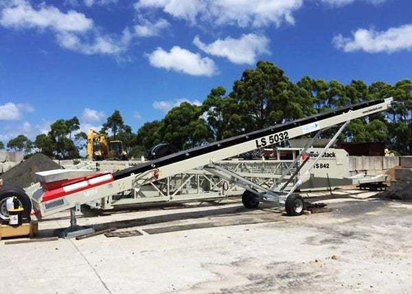 Stockpile Conveyor - Telestack LS-5032 Stacker Stockpile Conveyor - Tricon Equipment