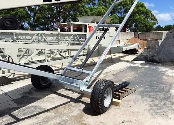 Wheeled Conveyor - Telestack LS-5032 Stacker Stockpile Conveyor - Tricon Equipment