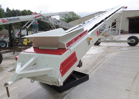 Radial Conveyor - Telestack RS-424X Wheeled Plate Radial Stacker Stockpile Conveyor - Tricon Mining Equipment