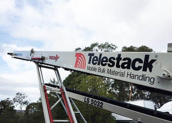 Conveyor - Telestack TC-420X Mobile Stacker Stockpile Conveyor - Tricon Equipment