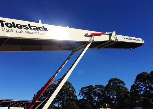 Track Conveyor - Telestack TC-621R Mobile Stacker Radial Stockpile Conveyor - Tricon Equipment