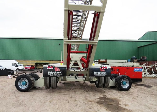 Telescopic Conveyor - Telestack TS-36-140 AGGSTACK Mobile Telescopic Radial Stockpile Conveyor - Tricon Equipment