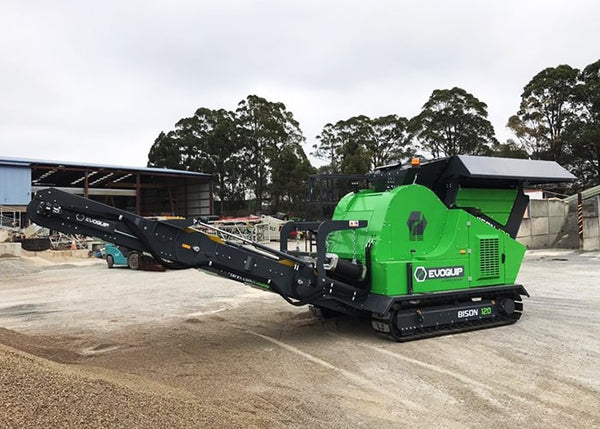 Terex New EvoQuip Bison 120 Crushing Machine - Tricon Equipment Australia