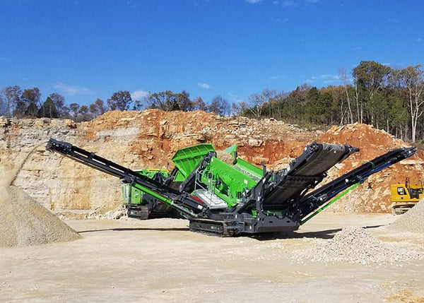 Double Deck Screen - Terex EvoQuip Colt 1000 Scalping Reclaimer Double Deck Screening Machine - Tricon Equipment Australia