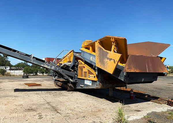 Bulk Materials Screen - Tesab TS1550 2 Deck Vibrating Rock Screen - Tricon Australia