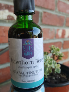 Hawthorn Berry Herbal Tincture