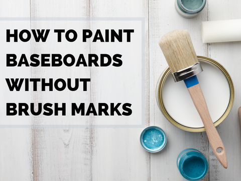 How to Paint Baseboards Without Brush Marks