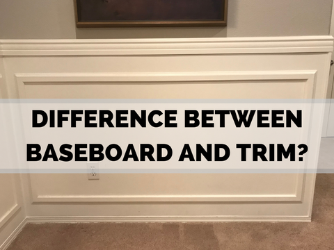 What is the Difference Between Baseboard and Trim?