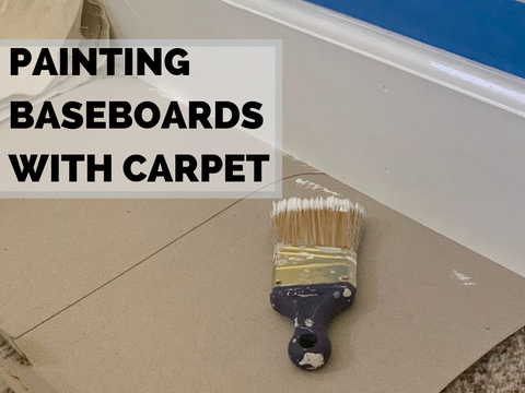 3 Options for Painting Baseboards With Carpet