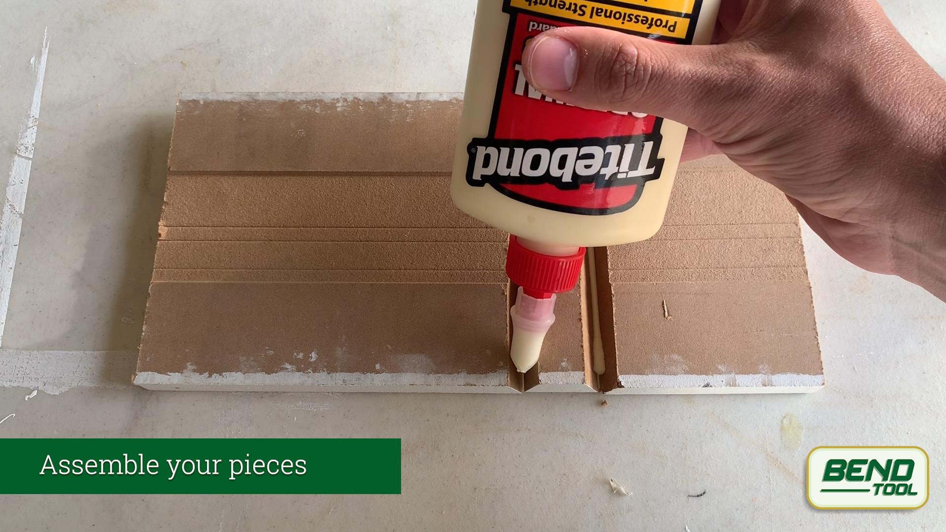 Installing bullnose baseboard - assemble your pieces - Bend Tool Co.