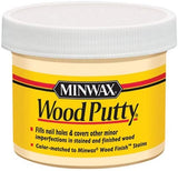 Bend Tool Co. - Minwax wood putty is a great solution when color (grain, wood) matching for filling baseboard nail holes.