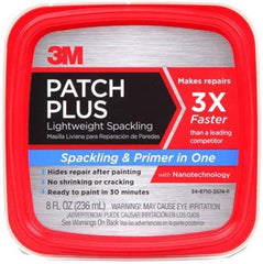 Bend Tool Co. - 3M Patch Plus Spackling Paint and Primer in One is a great choice for filling baseboard nail holes.
