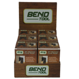 Bend Tool Co. 3/4'' Bullnose Corner Gauge POP Display (Front View)