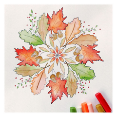 Mandala autumn