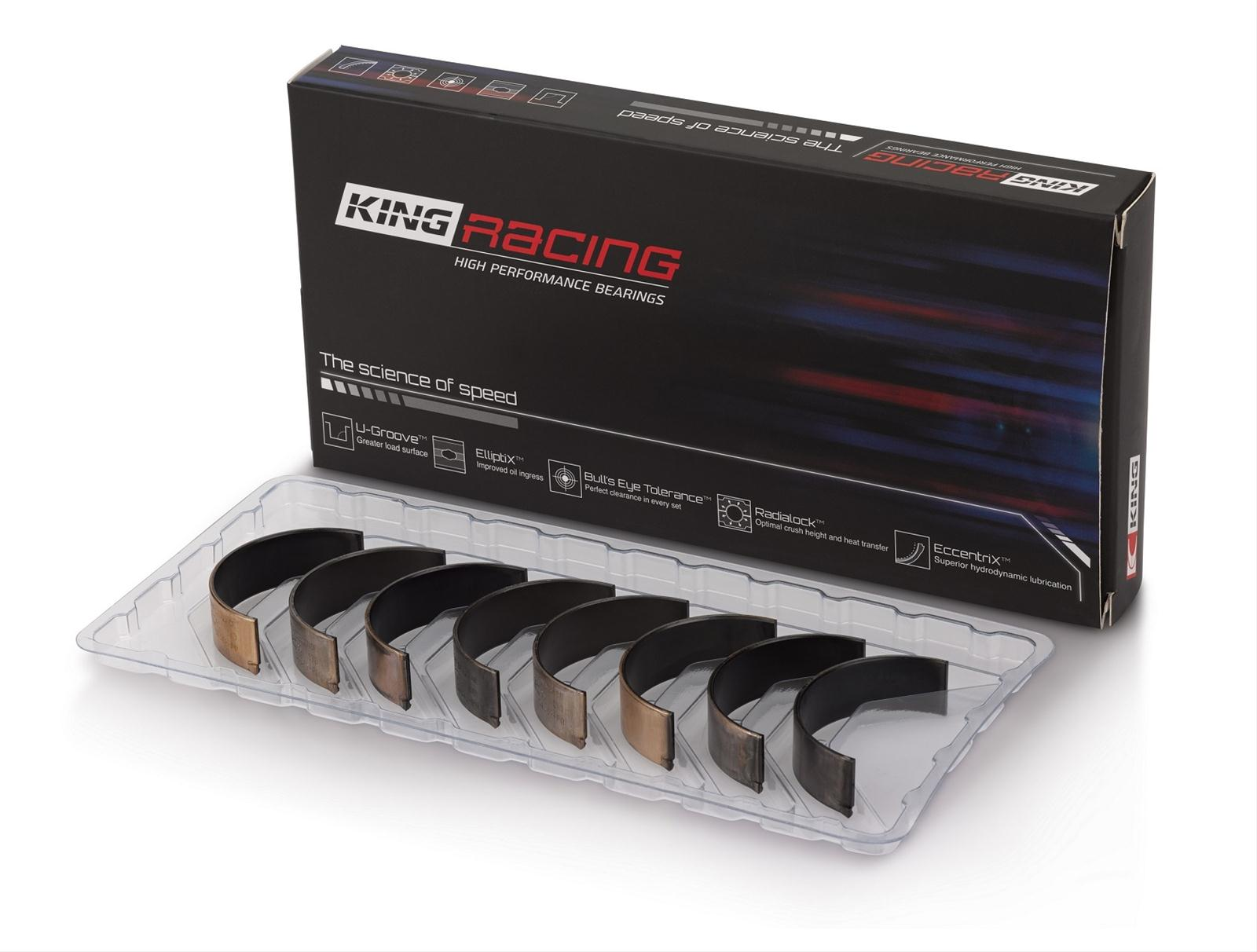 King Racing 1.8T Main Bearing Set (standard size)