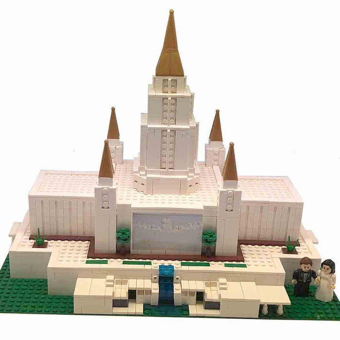 Oakland Temple Sets Building Bricks