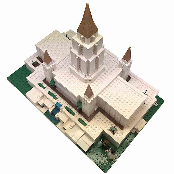 Brick Building Blocks to Build Oakland Temple
