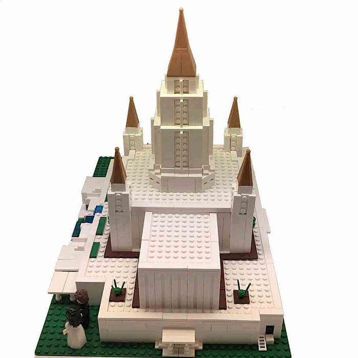 Oakland Temple Design Building Bricks