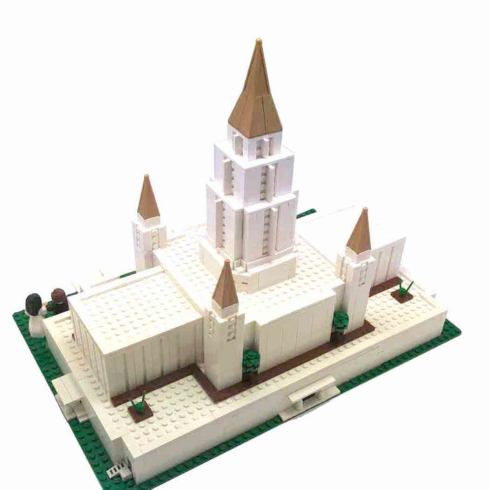 Oakland Temple Toy Brick Building Set