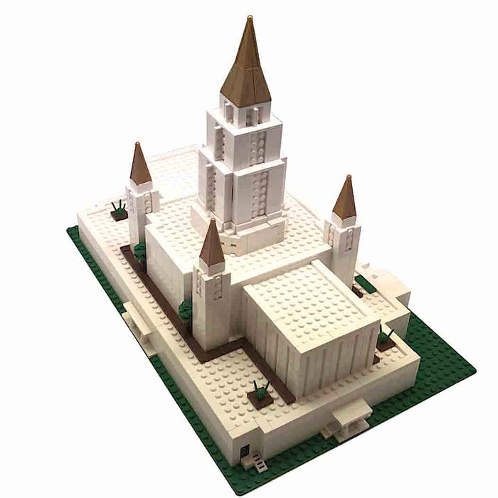Oakland Temple Brick 'em Young Building Bricks Set