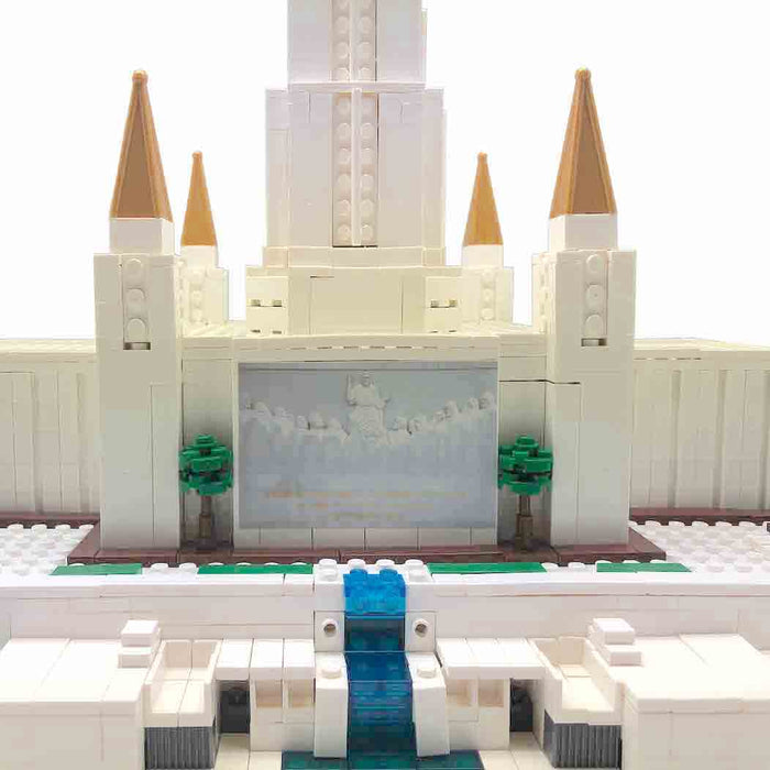 Oakland California Temple Lego Set