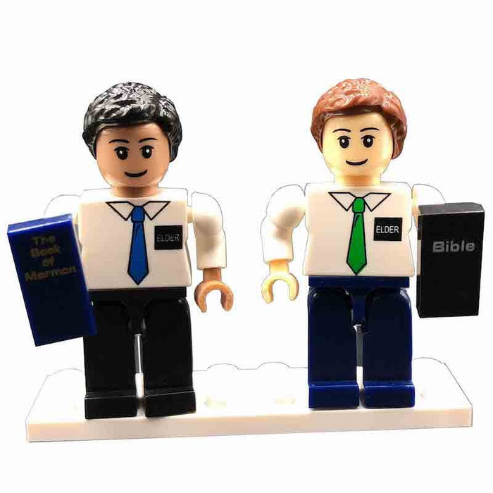 Elder Missionary Figurines