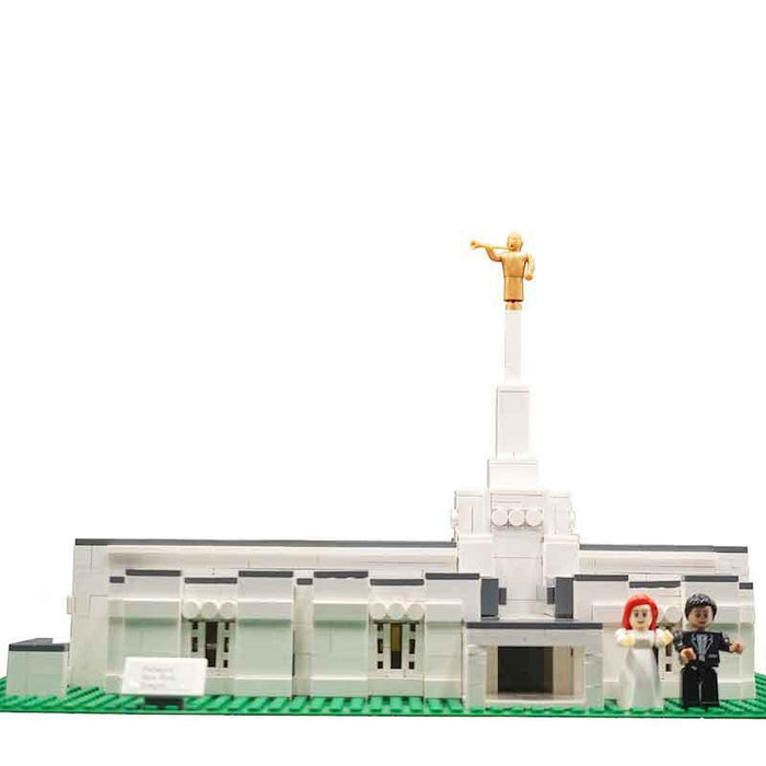 Lego Small Temple Design used for 40+ Temples