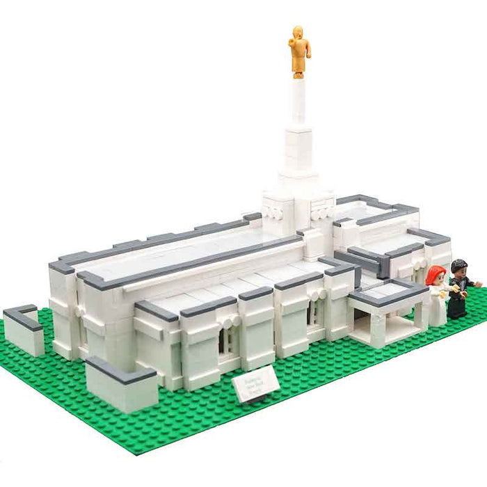 Brick'Em Young Temple Design for 40+ Temples