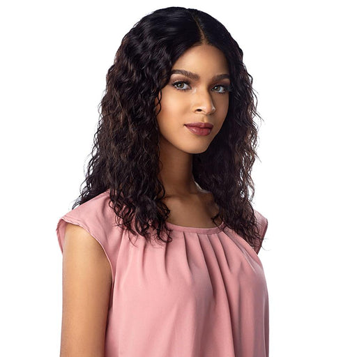 10A NATURAL WAVE | Sensationnel Unprocessed Virgin Human Hair Lace Wig - Hair to Beauty | Color Shown : NATURAL