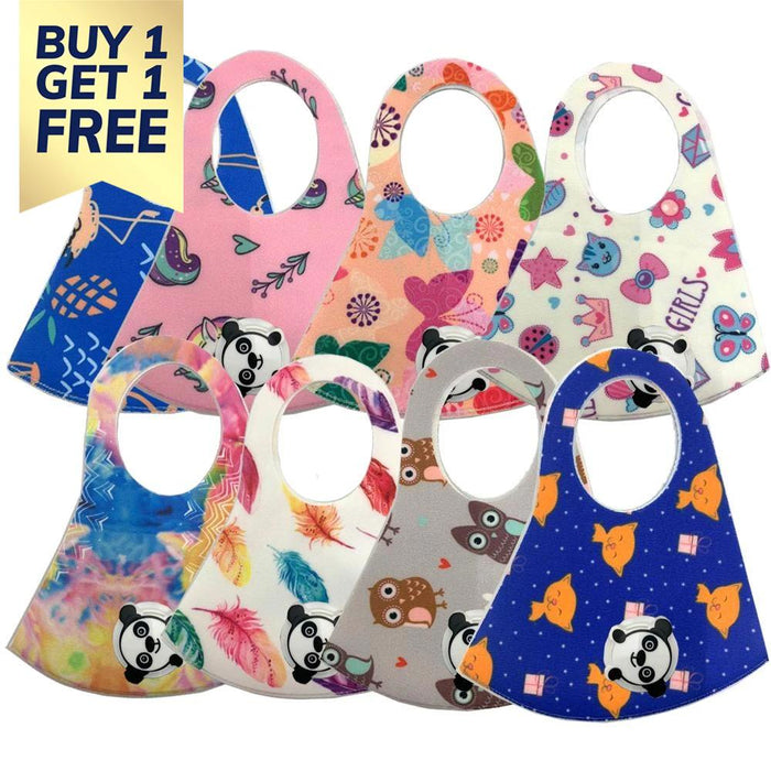 BE U | Kids Graphic Face Mask with Respirator - Buy 1 Get 1 Free.