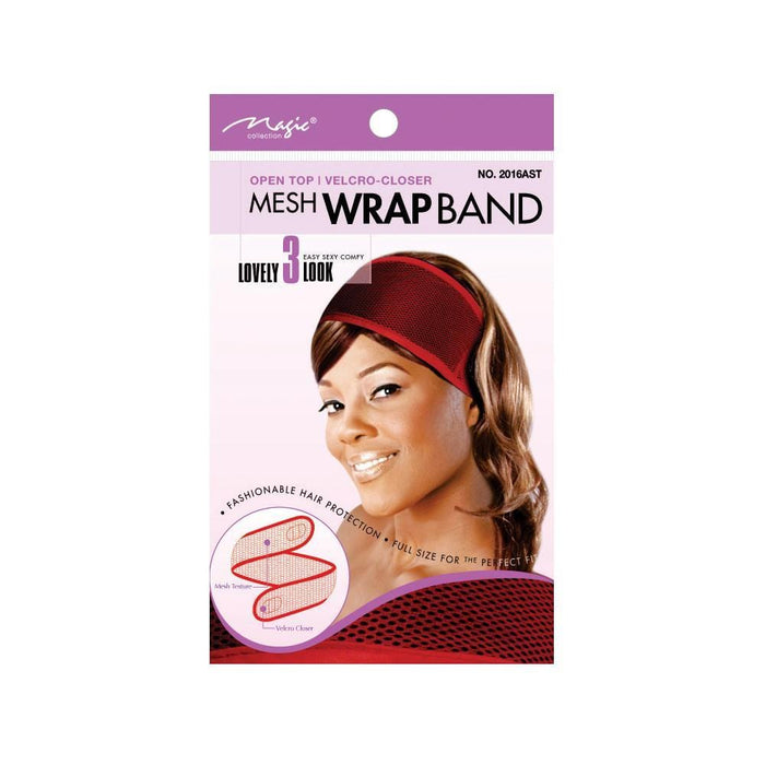 MAGIC | Mesh Wrap Band Assort- Hair to beauty