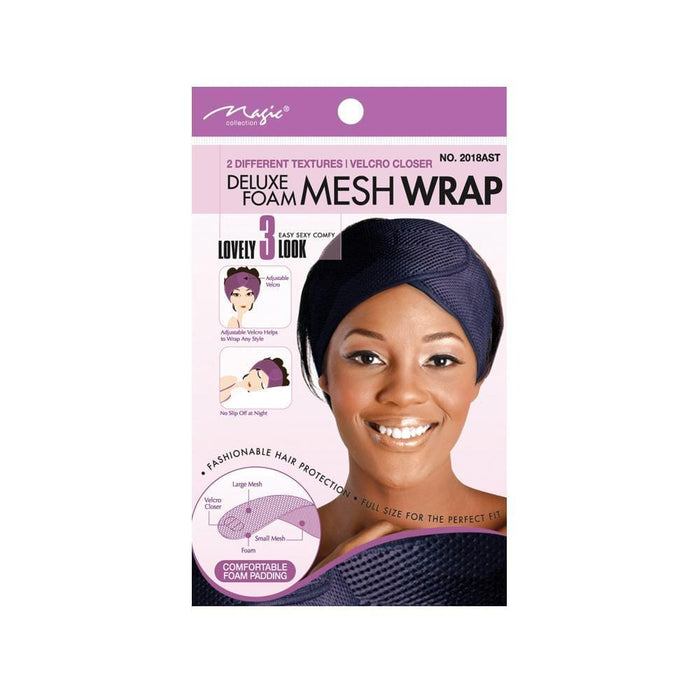 MAGIC | Deluxe Form Mesh Wrap Assorted - Hair to beauty