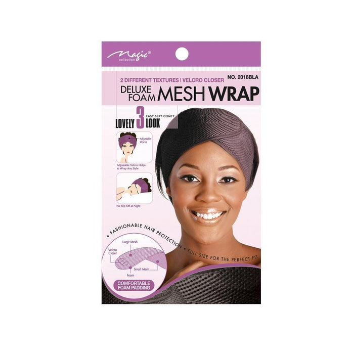 MAGIC | Deluxe Form Mesh Wrap Black - Hair to beauty