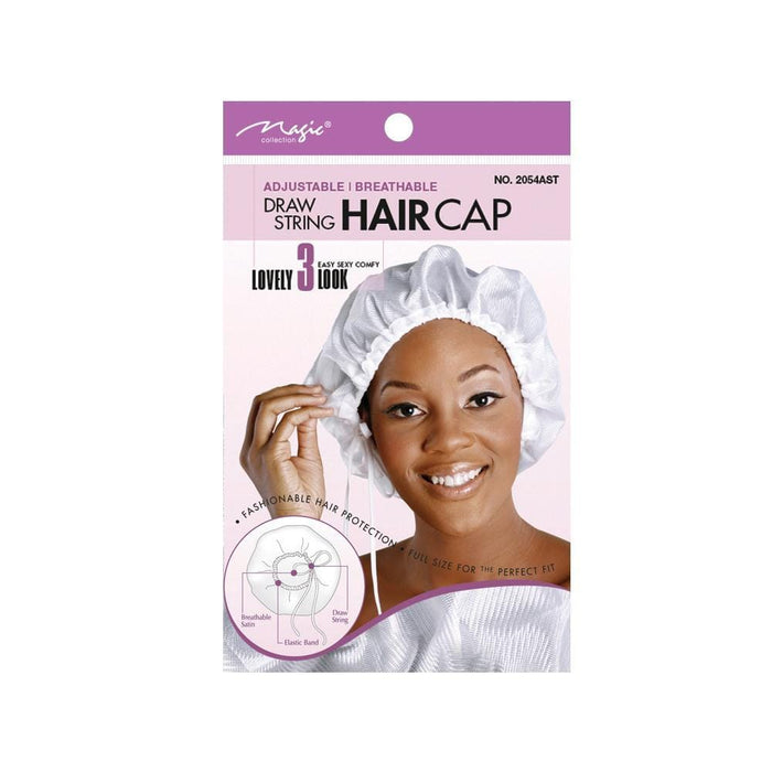 MAGIC | Draw String Cap Assort-Adjust- Hair to beauty