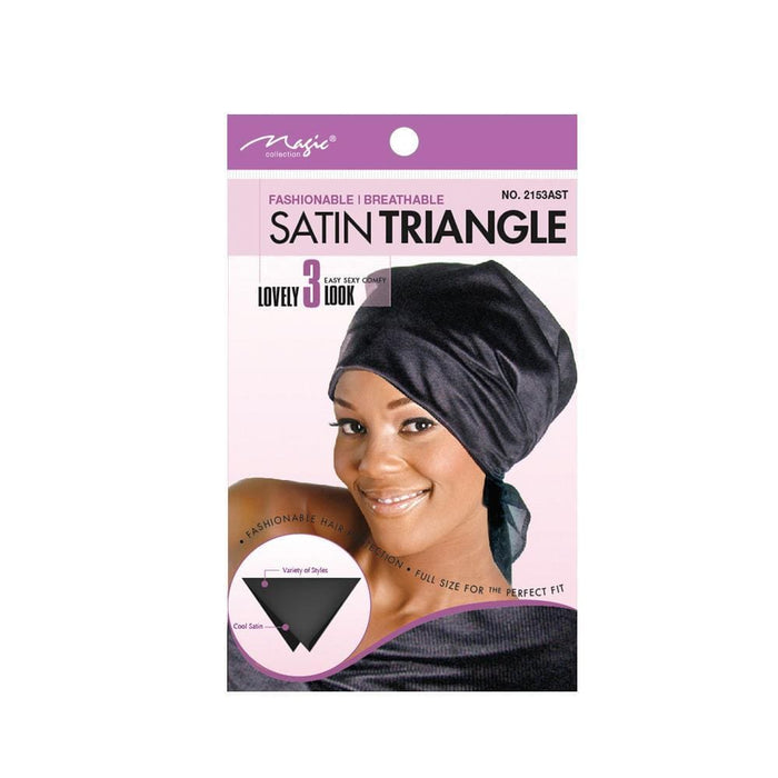 MAGIC | Satin Triangle Wrap Assorted - 2153AST.