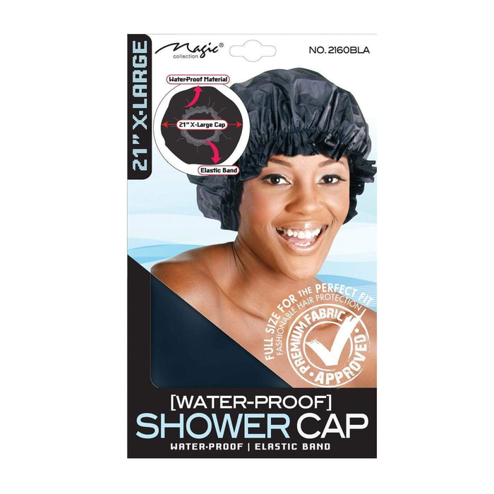 MAGIC | Shower Cap Black X-Large- Hair to beauty