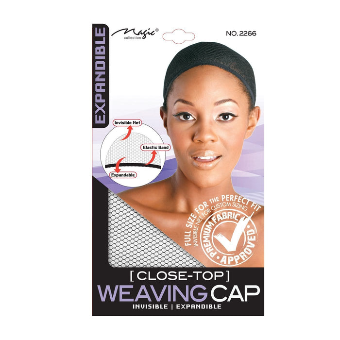 MAGIC | Response Closed-Top Weaving Cap Black - Hair to beauty