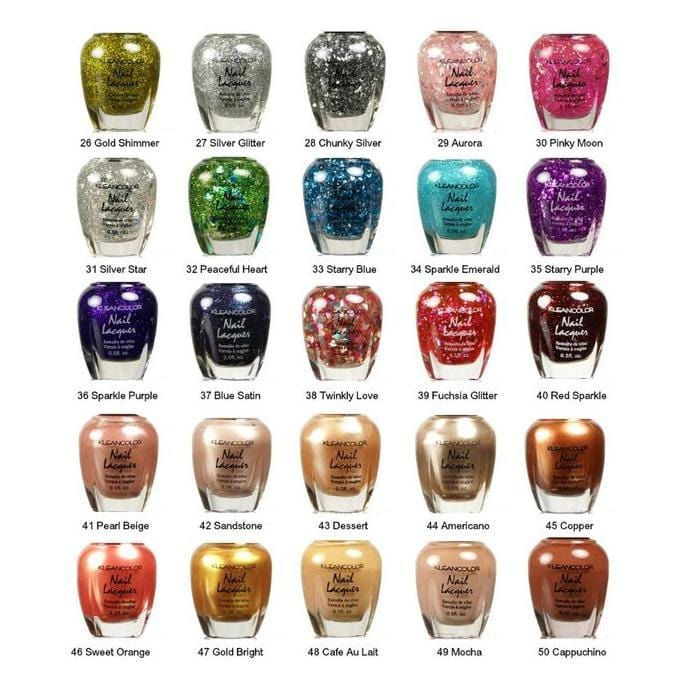 KLEANCOLOR | Nail Lacquers - Hair to Beauty