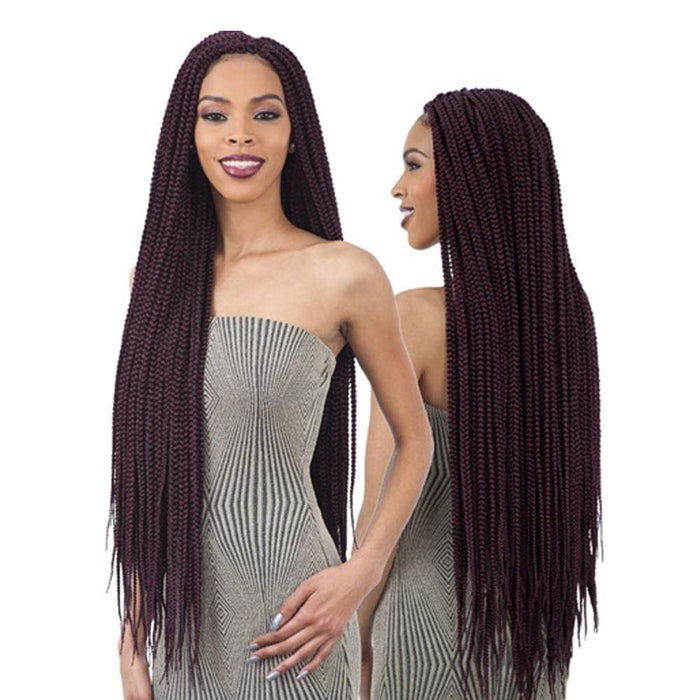 2X MEDIUM BOX BRAIDS 30"