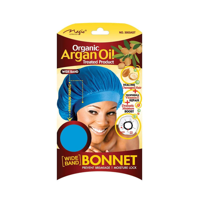 MAGIC | Organic Argan Oil Bonnet Wide Band Assort 3003AST.