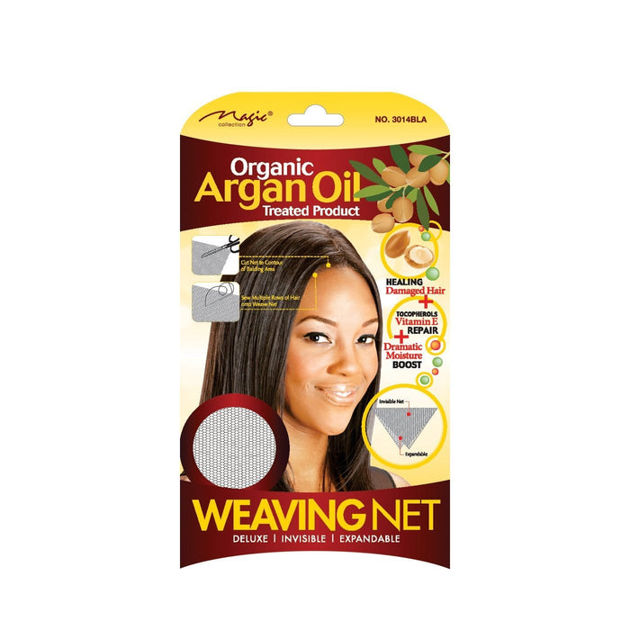 MAGIC | Organic Argan Oil Weaving Net Black 3014BLA.