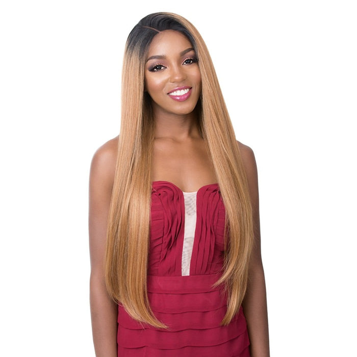 360 Lace Barbie | It's a Wig Human Hair Deep Lace Wig - Hair to Beauty | Color Shown : TT2730
