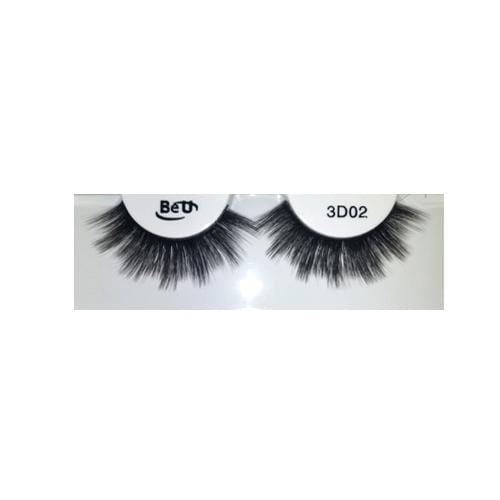BE U | 3D Faux Mink Eyelashes 3D02 - Hair to beauty