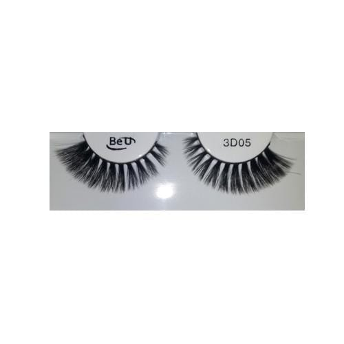 BE U | 3D Faux Mink Eyelashes 3D05 - Hair to beauty